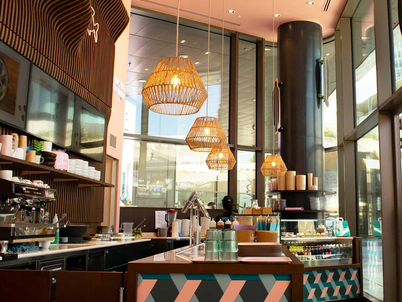 Bancone ristorante Citylife