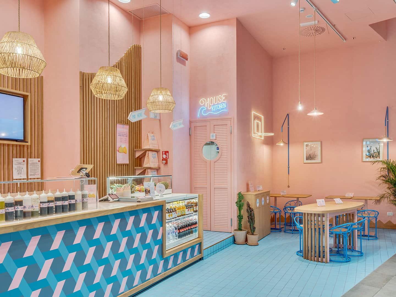 Interno ristorante Poke House