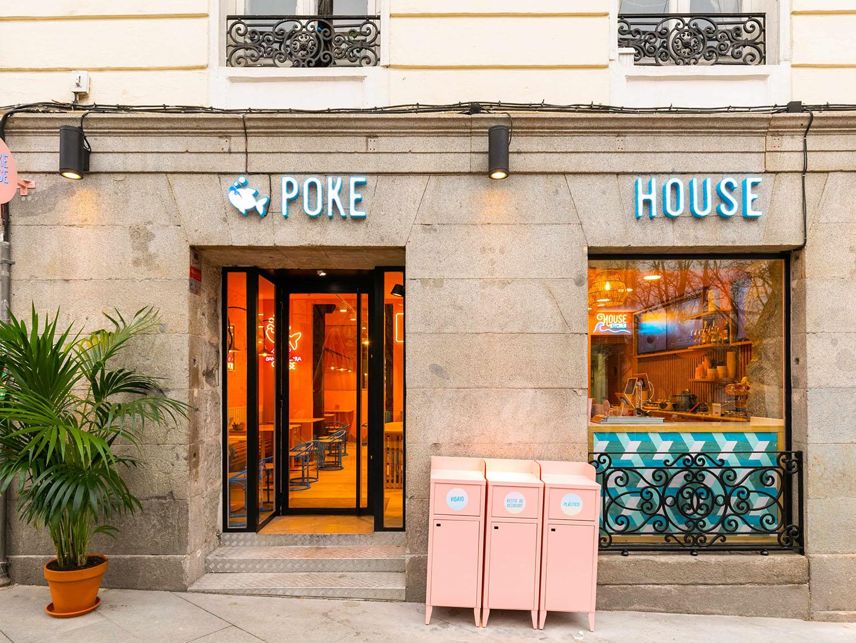 Esterno ristorante Poke House