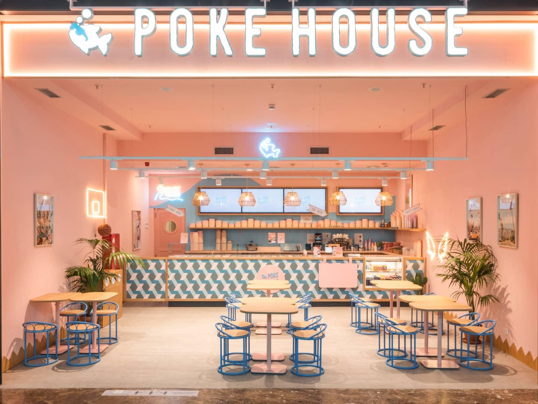 Tavoli interni Poke House La Gavia
