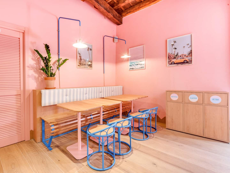Inside Poke House restaurant