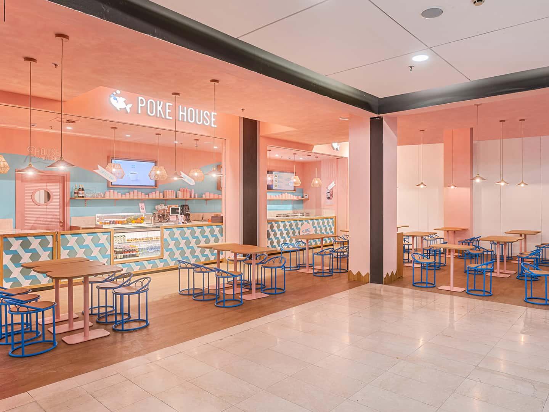Poke House Lingotto restaurant interior