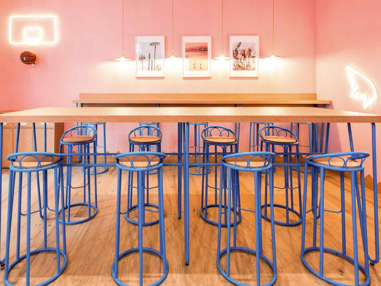 Meravigli interior restaurant in Milan